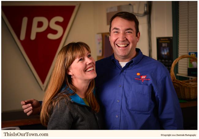 Adam and Deanna Eltinge of Island Petroleum Services